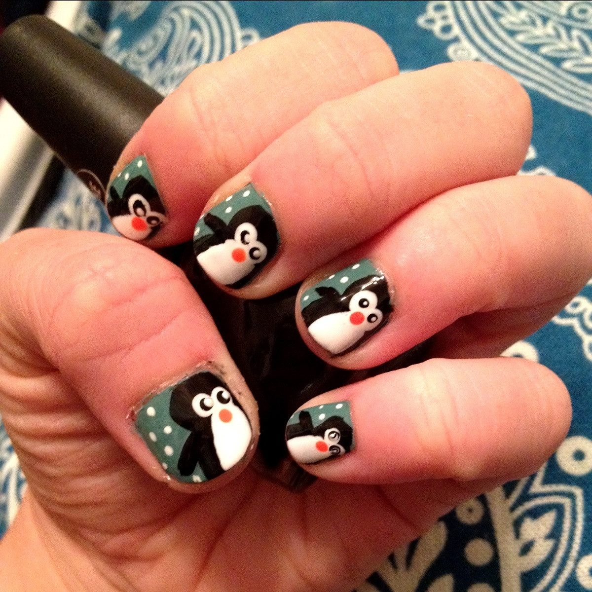 Christmas Themed Nails The Trapped Fashionista