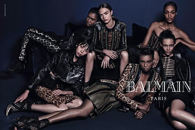 Balmain Fall/Winter 2014-2015 ad campaign