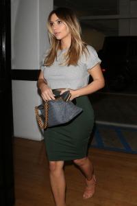 Kim Kardashian Heads To An Office Building Today